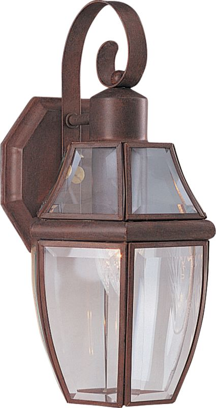 "Maxim 4011 1 Light 13.5"" Tall Outdoor Wall Sconce Pewter Outdoor"