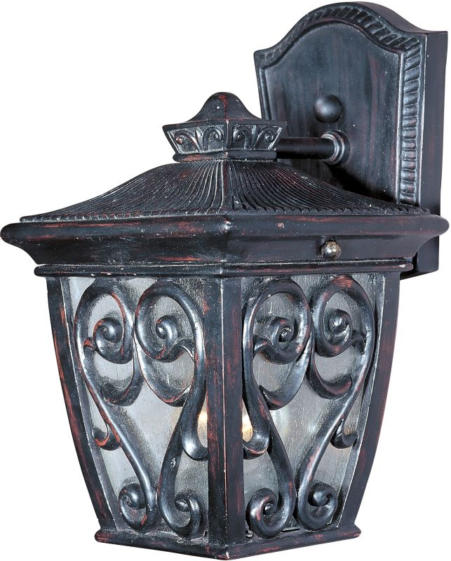 "Maxim 40122 1 Light 9"" Tall Outdoor Wall Sconce from the Newbury VX"