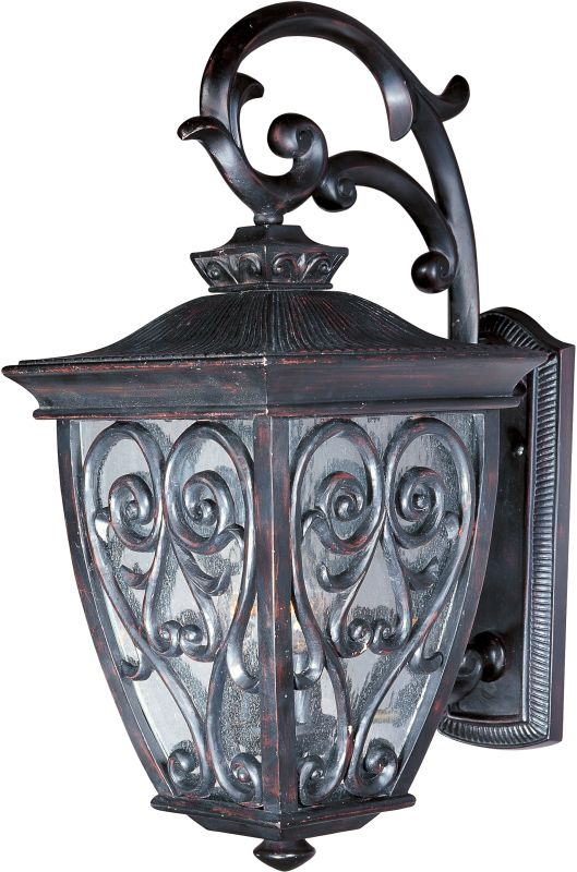 "Maxim 40123 2 Light 18"" Tall Outdoor Wall Sconce from the Newbury VX Sale $220.00 ITEM: bci2687876 ID#:40123CDOB UPC: 783209065222 :"