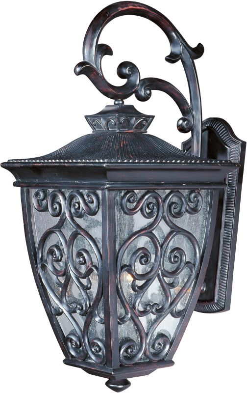 "Maxim 40124 3 Light 23"" Tall Outdoor Wall Sconce from the Newbury VX"
