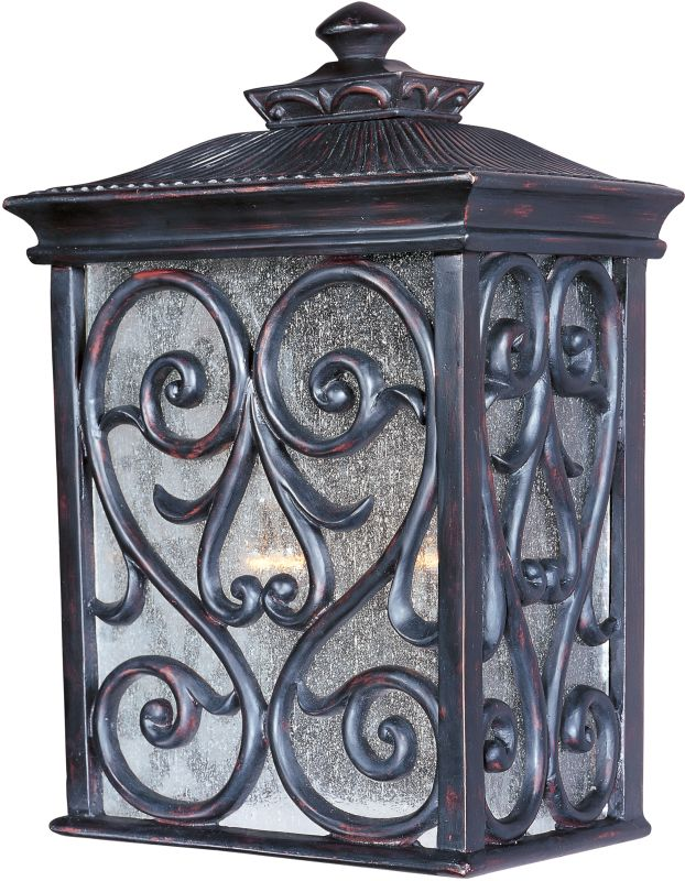 "Maxim 40127 2 Light 15"" Tall Outdoor Wall Sconce from the Newbury VX"