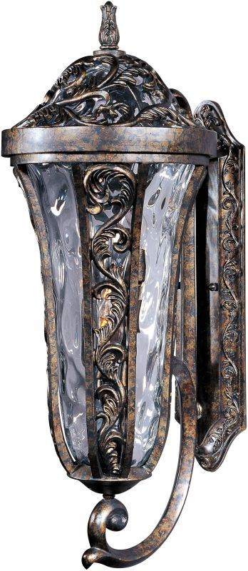 "Maxim 40144 3 Light 26.5"" Tall Outdoor Wall Sconce from the Montecito"