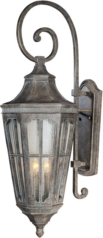 "Maxim 40155 3 Light 37"" Tall Outdoor Wall Sconce from the Beacon Hill"