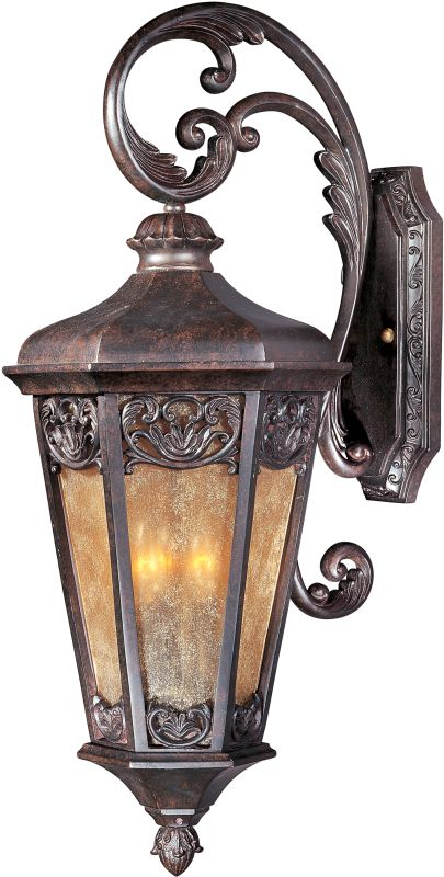"Maxim 40174 3 Light 28"" Tall Outdoor Wall Sconce from the Lexington VX"