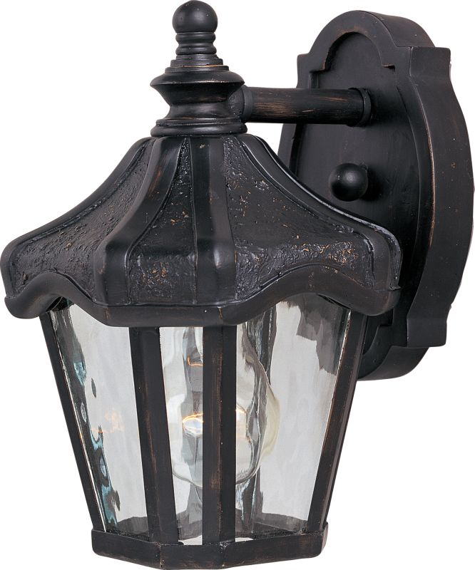 "Maxim 40268 1 Light 9.5"" Tall Outdoor Wall Sconce from the Garden VX Sale $73.00 ITEM: bci2687903 ID#:40268WGOB UPC: 783209063549 :"