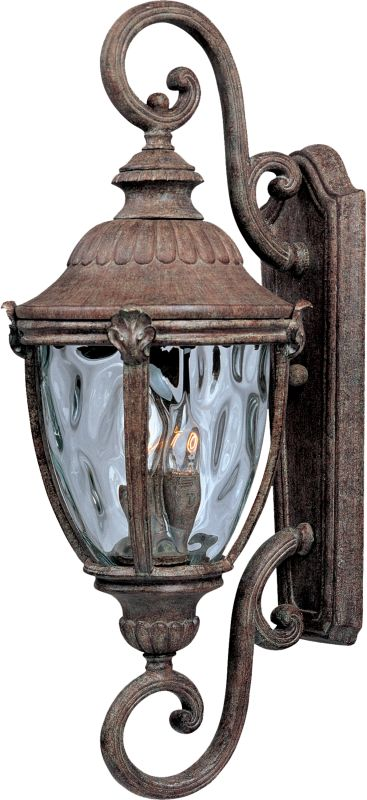 """Maxim 40289 3 Light 32.5"""" Tall Outdoor Wall Sconce from the Morrow Bay"""