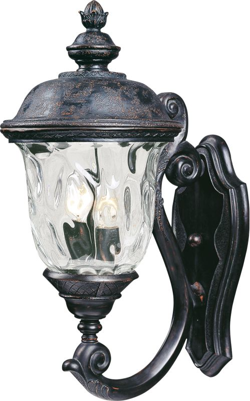 """Maxim 40423 2 Light 20"""" Tall Outdoor Wall Sconce from the Carriage"""