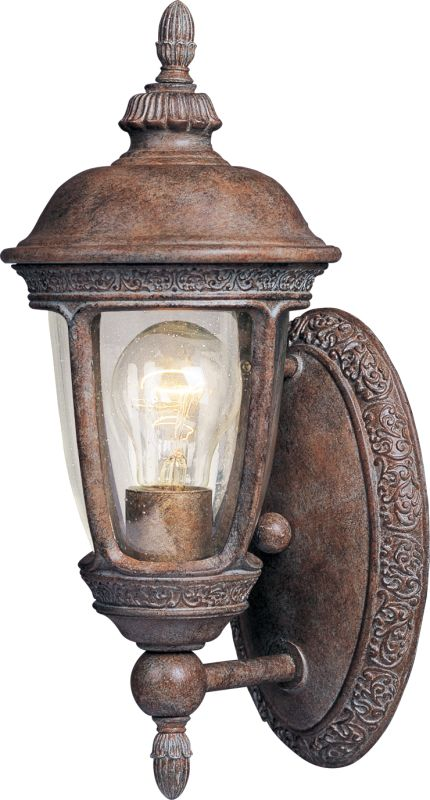 "Maxim 40462 1 Light 14"" Tall Outdoor Wall Sconce from the Knob Hill VX"
