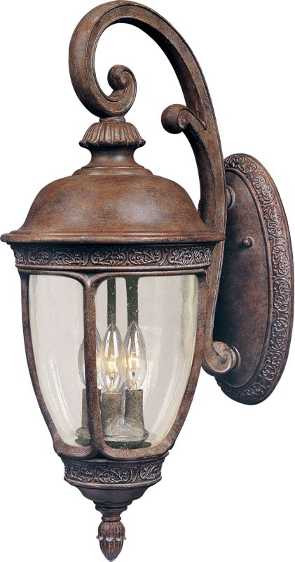 "Maxim 40464 3 Light 19.5"" Tall Outdoor Wall Sconce from the Knob Hill"