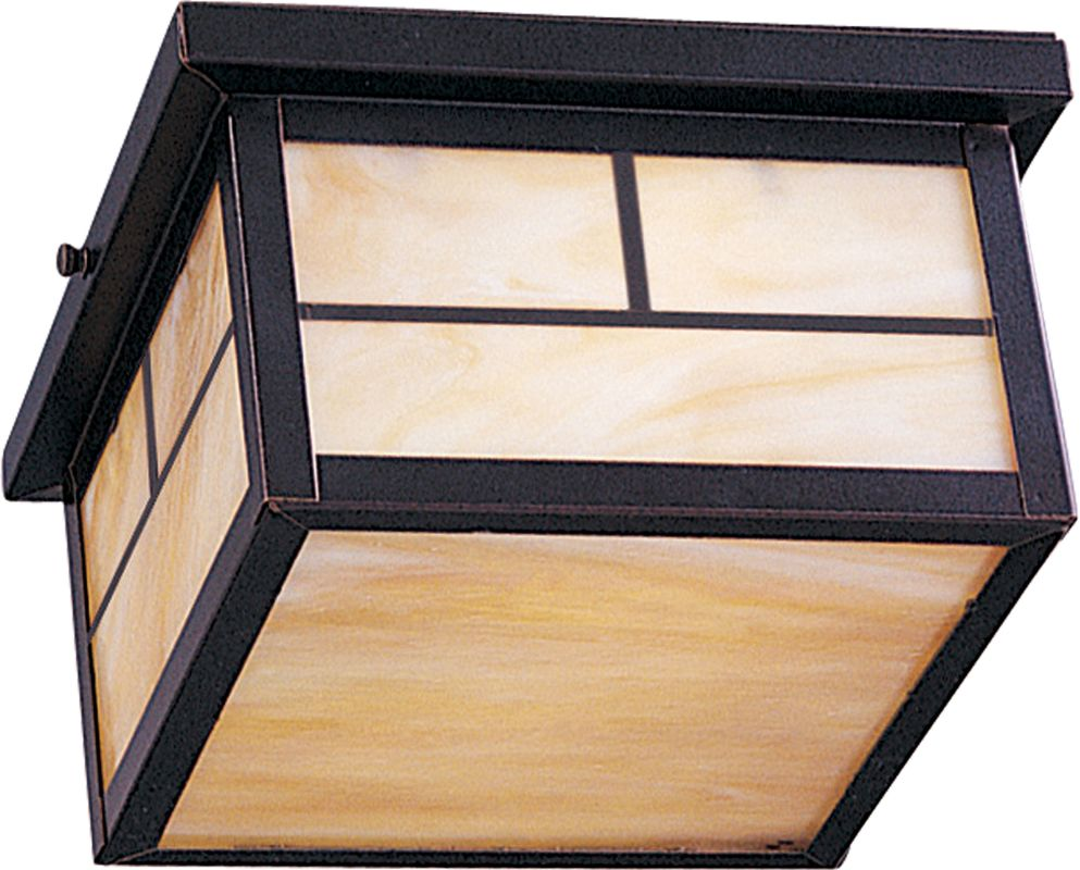 Maxim 4059 Coldwater 2-Bulb Flush Mount Outdoor Ceiling Fixture -