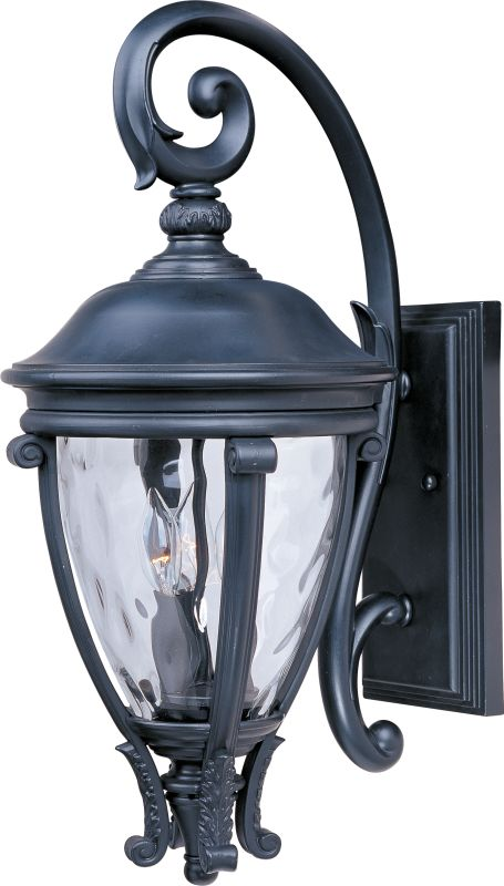 "Maxim 41425 3 Light 24"" Tall Outdoor Wall Sconce from the Camden VX"