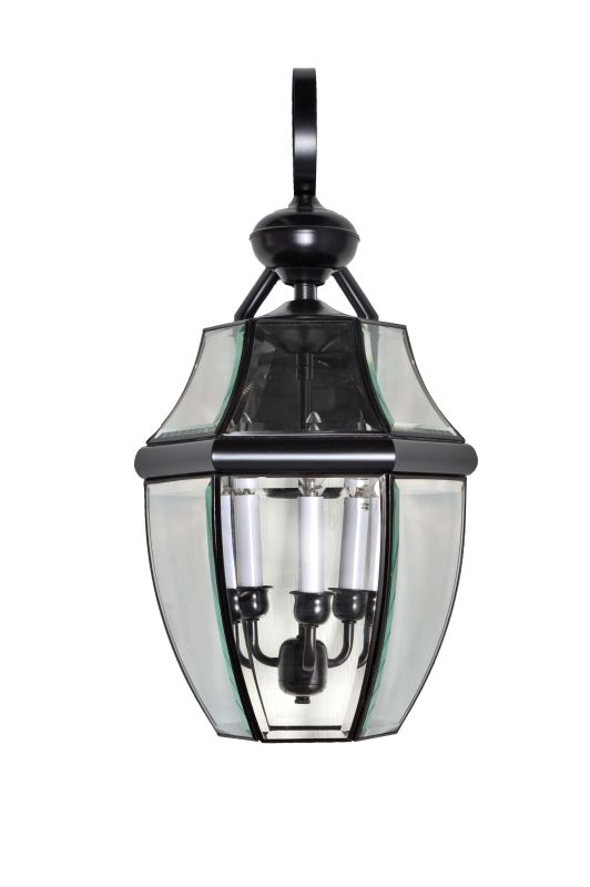 "Maxim 4192 3 Light 23"" Tall Outdoor Wall Sconce Burnished / Clear"