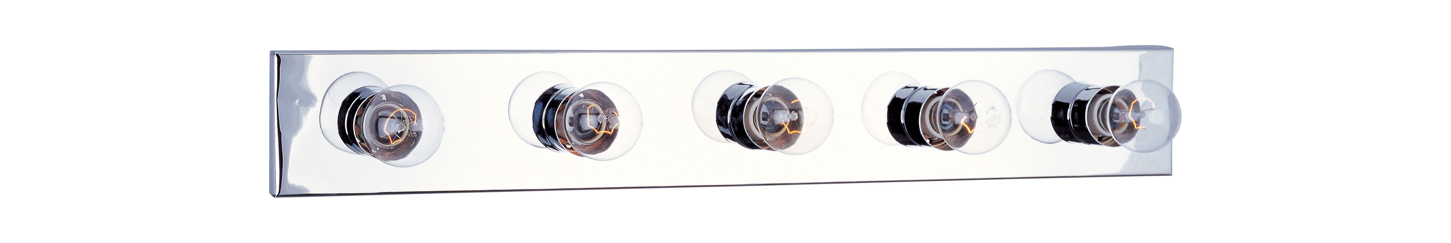 "Maxim 4455 5 Light 30"" Wide Bathroom Fixture from the Essentials -"