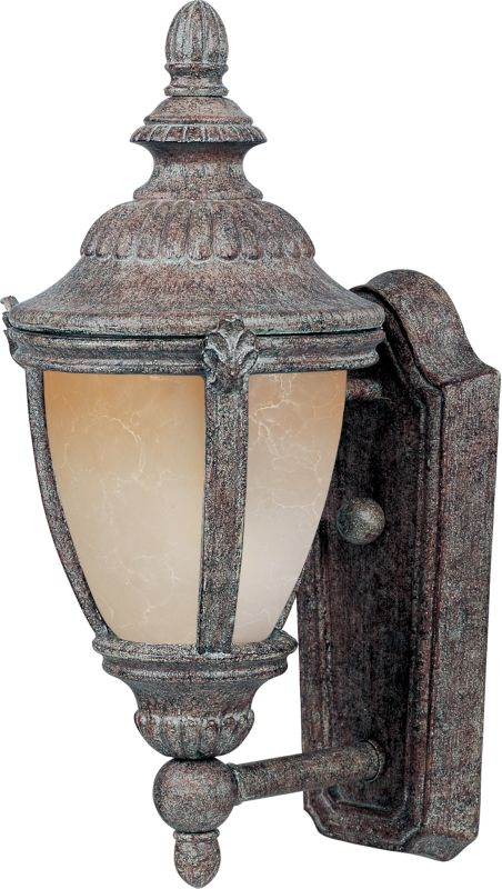 """Maxim 55183 14"""" Tall LED Outdoor Wall Sconce from the Morrow Bay"""