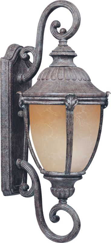 """Maxim 55188 27"""" Tall LED Outdoor Wall Sconce from the Morrow Bay"""