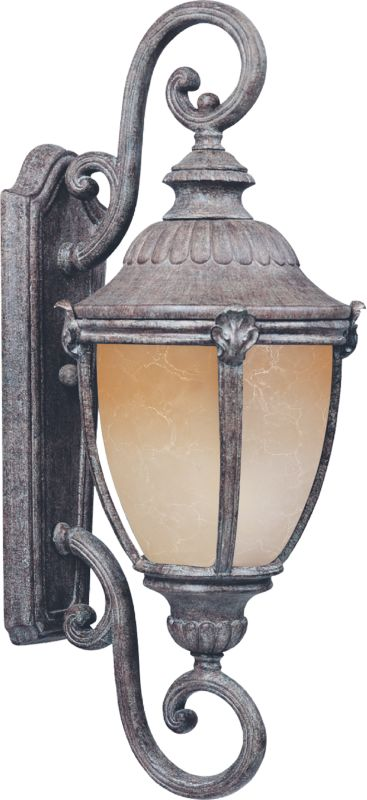"""Maxim 55189 32.5"""" Tall LED Outdoor Wall Sconce from the Morrow Bay"""