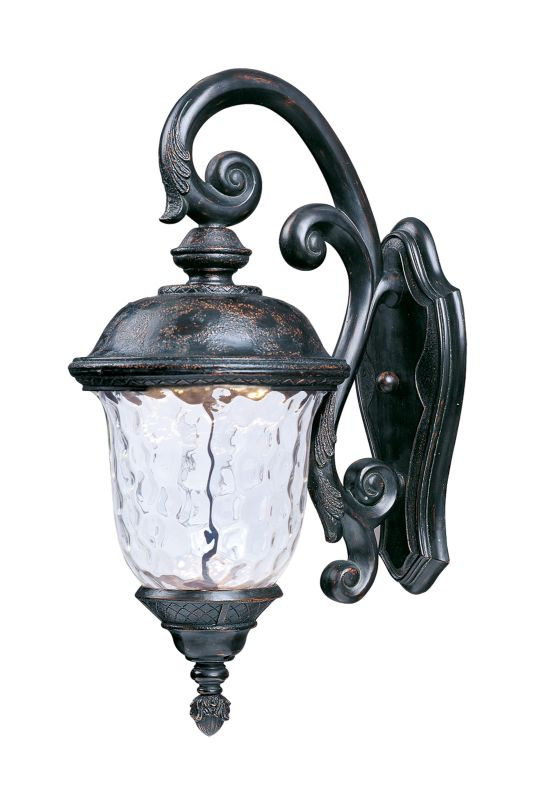 """Maxim 55497 26.5"""" Tall LED Outdoor Wall Sconce from the Carriage House"""