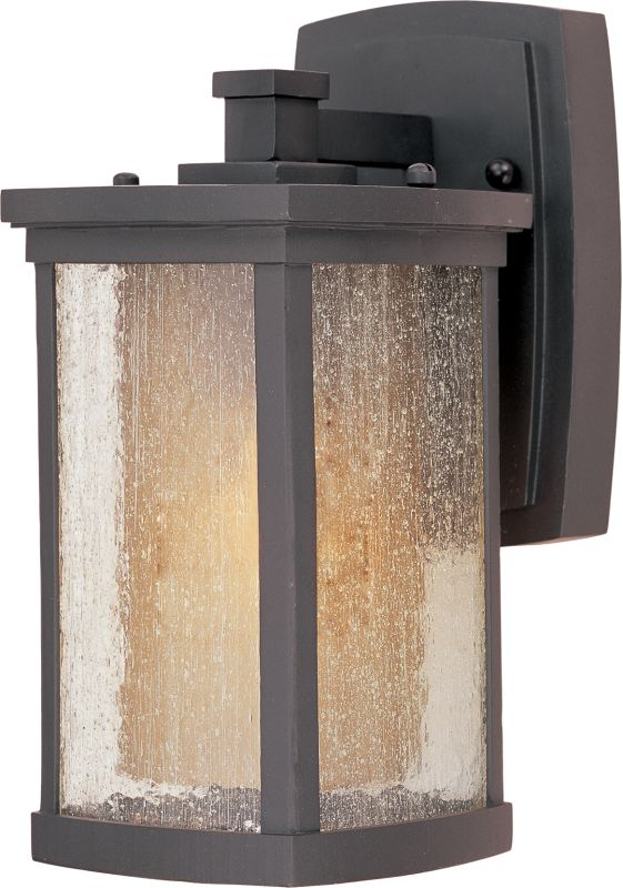 """Maxim 55652 11"""" Tall LED Outdoor Wall Sconce from the Bungalow"""