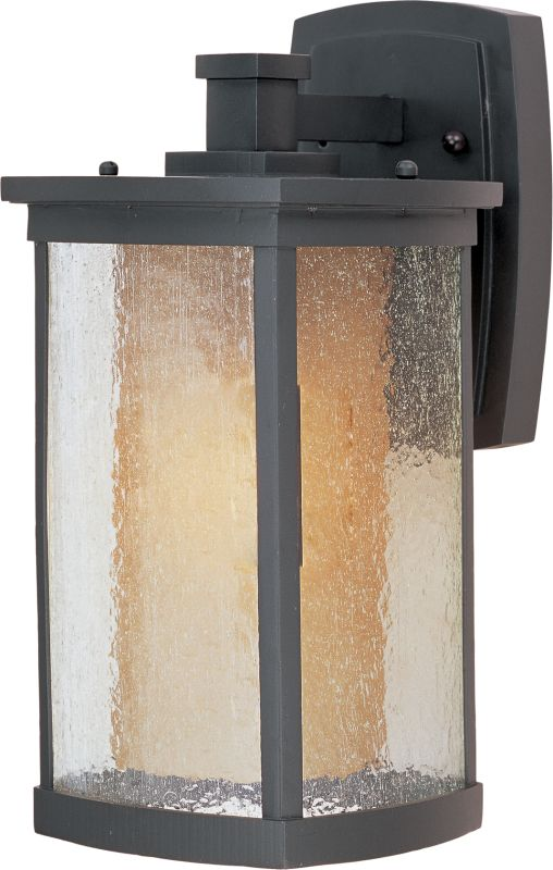 """Maxim 55653 13.75"""" Tall LED Outdoor Wall Sconce from the Bungalow"""