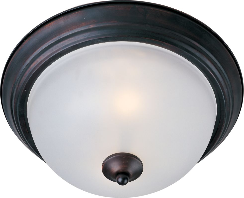 """Maxim 5840 1 Light 11.5"""" Wide Flush Mount Ceiling Fixture from the"""