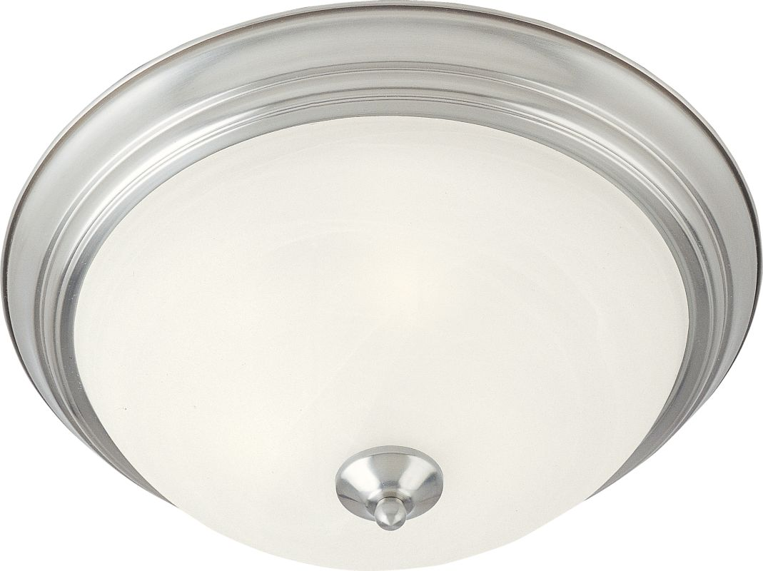 """Maxim 5849 2 Light 11.5"""" Wide Flush Mount Ceiling Fixture from the"""