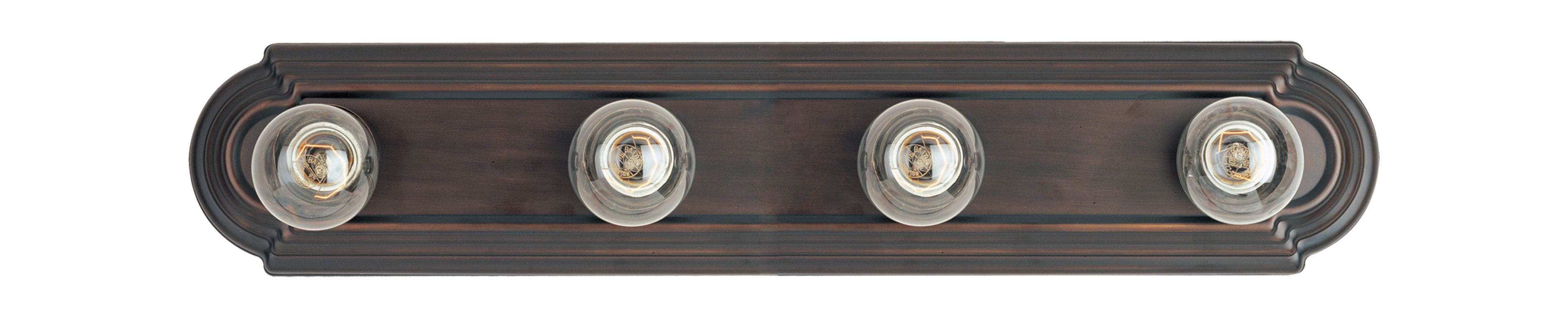 "Maxim 7124 4 Light 24"" Wide Bathroom Fixture from the Essentials -"