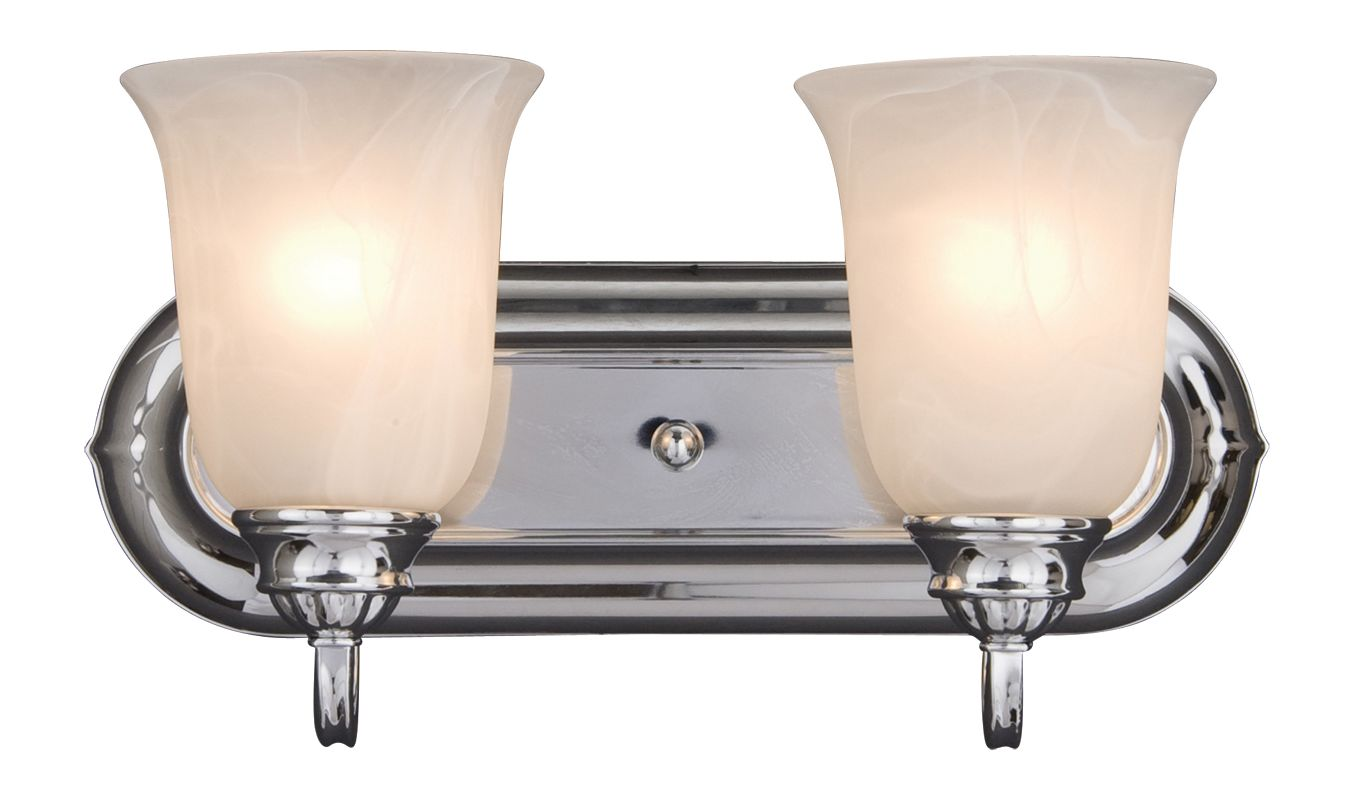 "Maxim 7136 2 Light 14"" Wide Bathroom Fixture from the Essentials -"