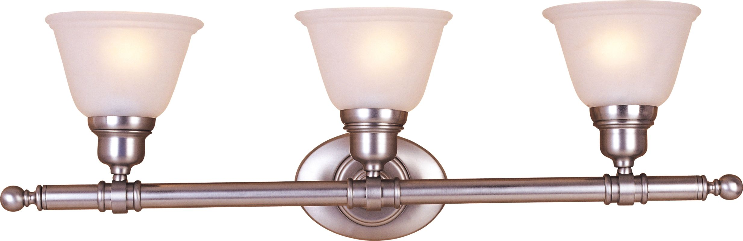 "Maxim 7143 3 Light 29.5"" Wide Bathroom Fixture from the Essentials -"
