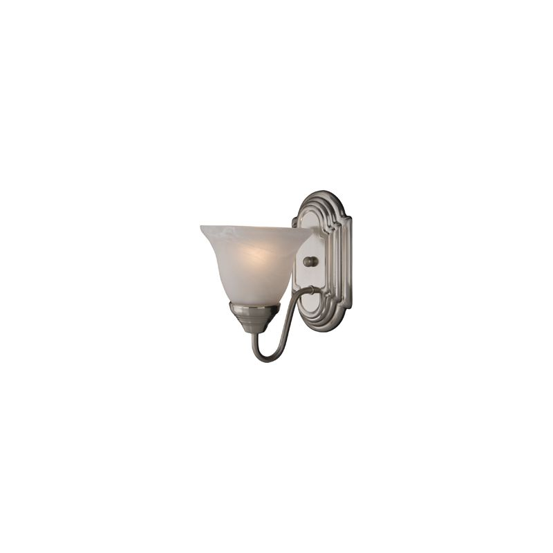 """Maxim 8011 1 Light 9.5"""" Tall Wall Sconce from the Essentials"""