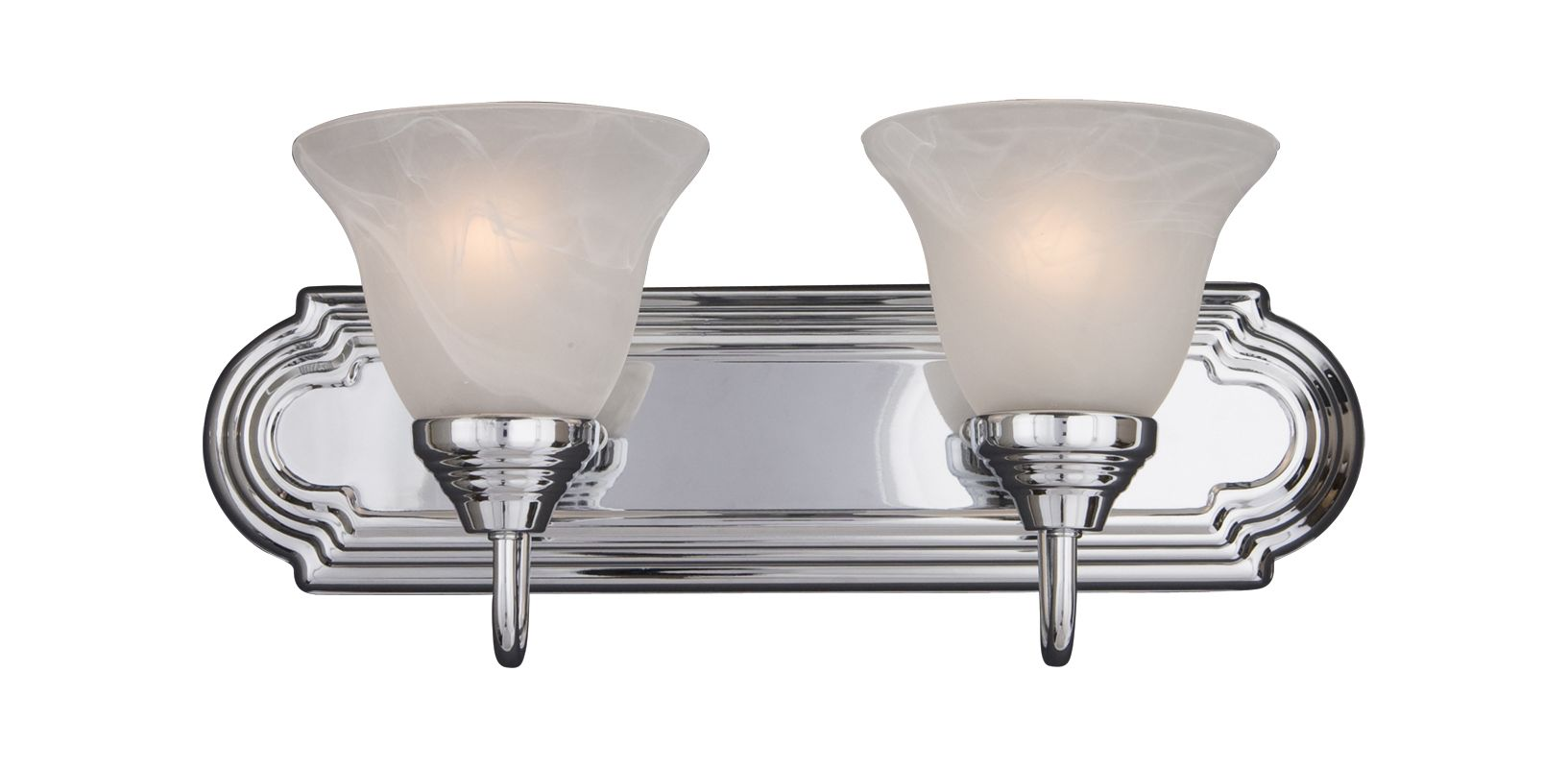 "Maxim 8012 2 Light 18"" Wide Bathroom Fixture from the Essentials - Sale $46.00 ITEM: bci2688990 ID#:8012MRPC UPC: 783209801202 :"