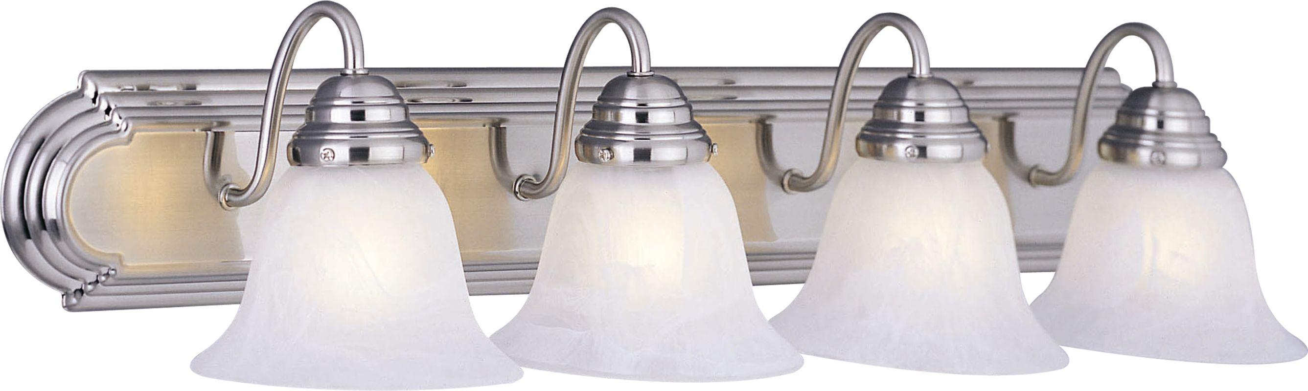 "Maxim 8014 4 Light 30"" Wide Bathroom Fixture from the Essentials -"
