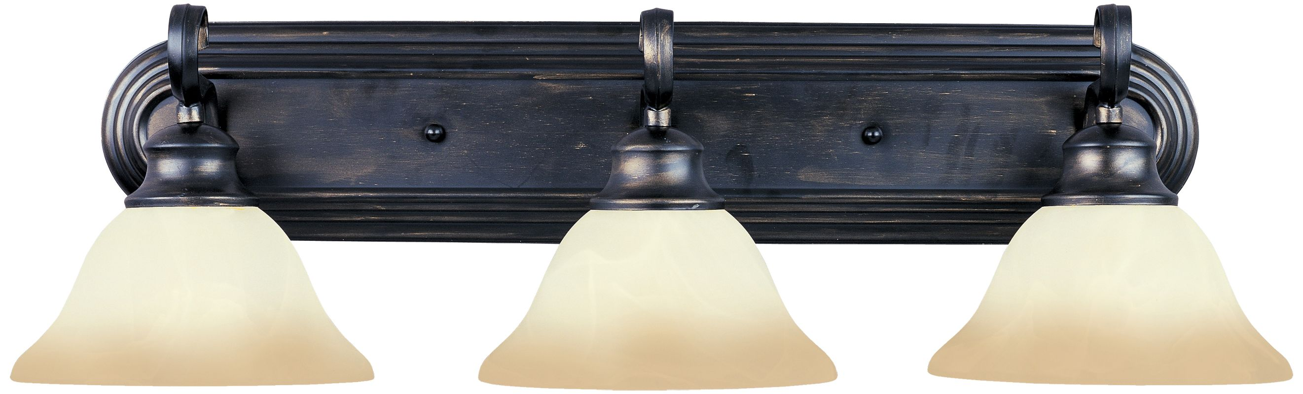 """Maxim 8023 3 Light 26.75"""" Wide Bathroom Fixture from the Pacific"""