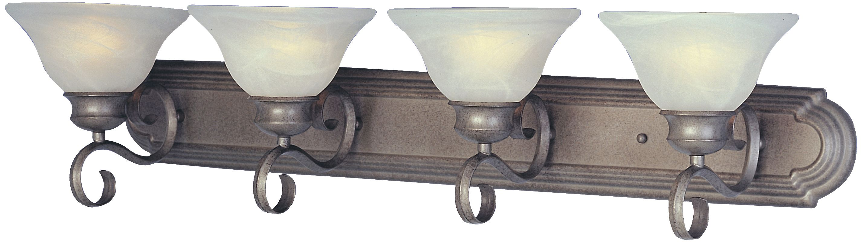"""Maxim 8024 4 Light 36"""" Wide Bathroom Fixture from the Pacific"""