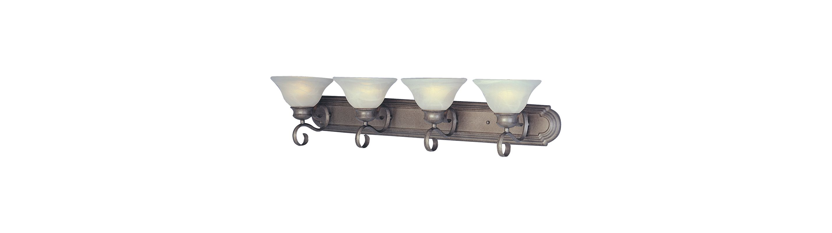 """Maxim 8024-LQ 4 Light 36"""" Wide Bathroom Fixture from the Pacific"""