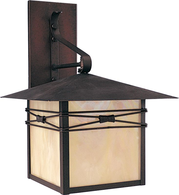 "Maxim 8042 1 Light 16.5"" Tall Outdoor Wall Sconce from the Taliesin"