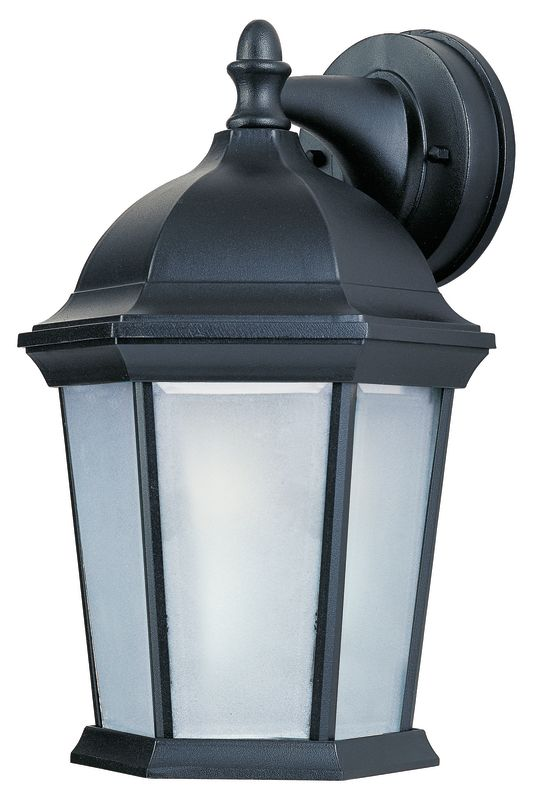 """Maxim 85024 1 Light 12"""" Tall Outdoor Wall Sconce from the Builder Cast"""
