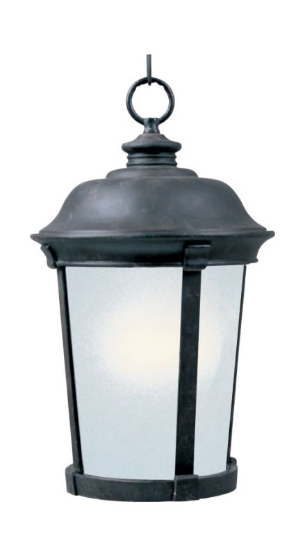 Maxim 85099 Dover Energy Star 1 Light Outdoor Pendant Bronze Outdoor