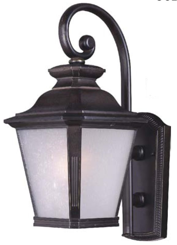 "Maxim 85625 1 Light 18.5"" Tall Outdoor Wall Sconce from the Knoxville"