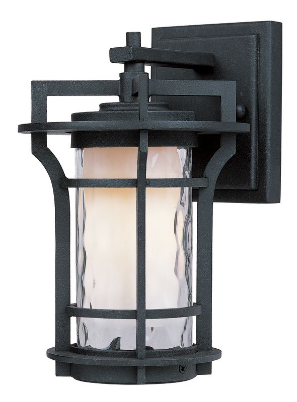 "Maxim 85782 1 Light 9.5"" Tall Outdoor Wall Sconce from the Oakville EE"