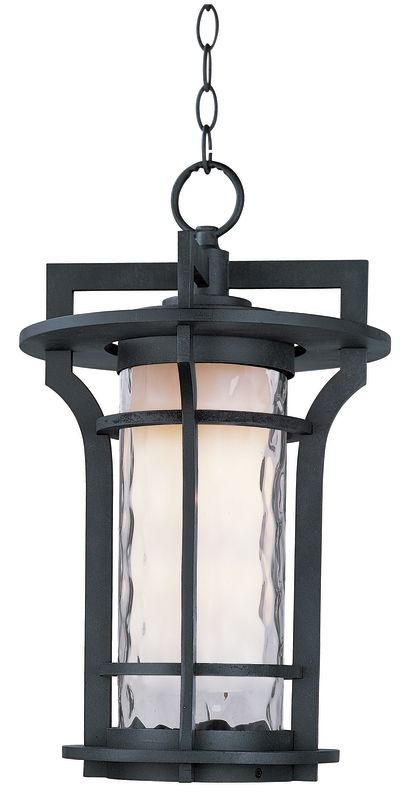 Maxim 85788 Oakville EE 1 Light Outdoor Pendant Black Oxide Outdoor