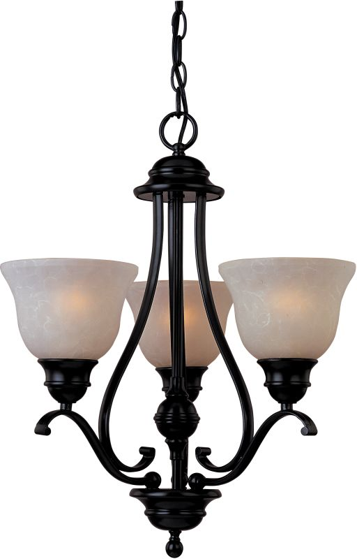 Maxim 85804 Linda EE 3 Light Single-Tier Chandelier Oil Rubbed Bronze Sale $198.00 ITEM: bci2629651 ID#:85804WSOI UPC: 783209028272 :
