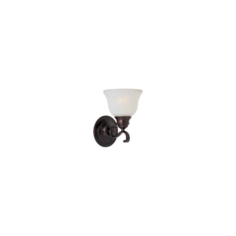 """Maxim 85807 1 Light 9.5"""" Tall Energy Star Wall Sconce from the Linda"""