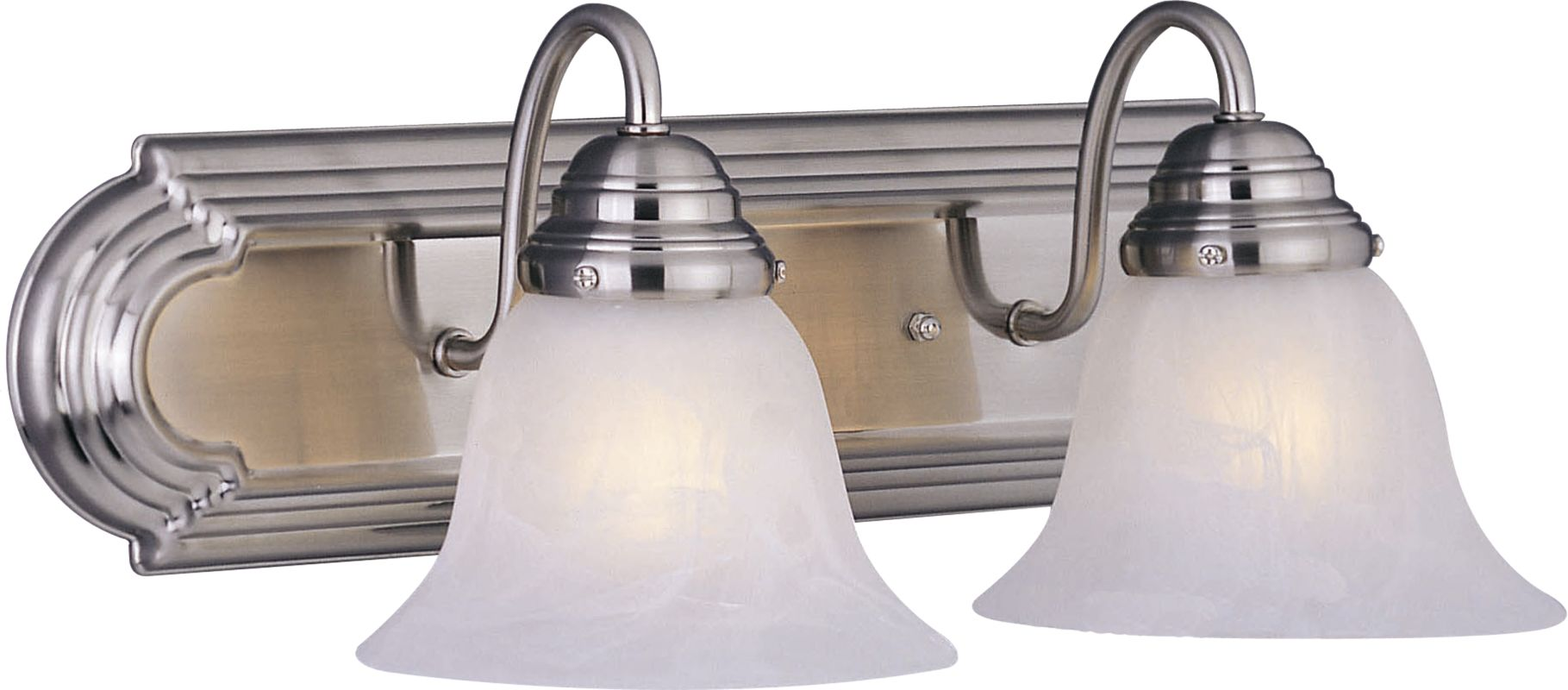"Maxim 85812 2 Light 18"" Wide Bathroom Fixture from the Essentials EE"