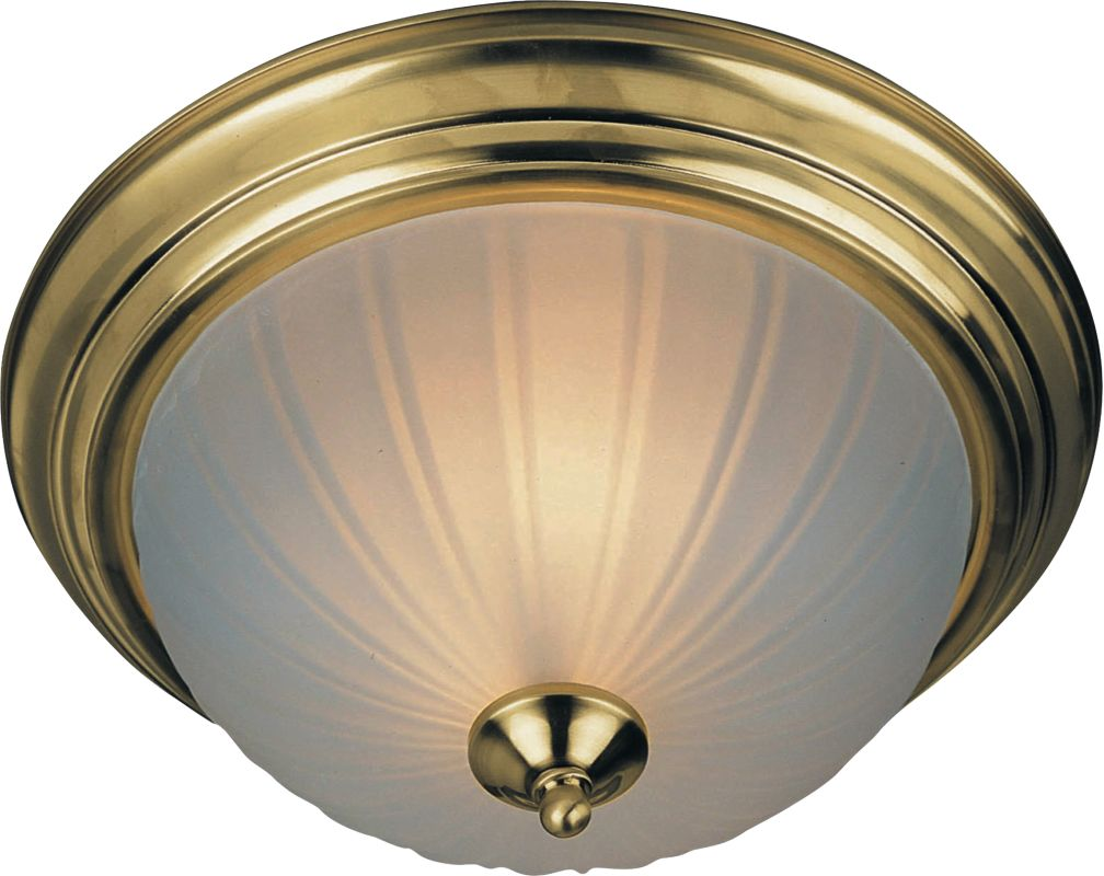 Maxim 85832FT Flush Mount EE 3-Bulb Flush Mount Indoor Ceiling Fixture