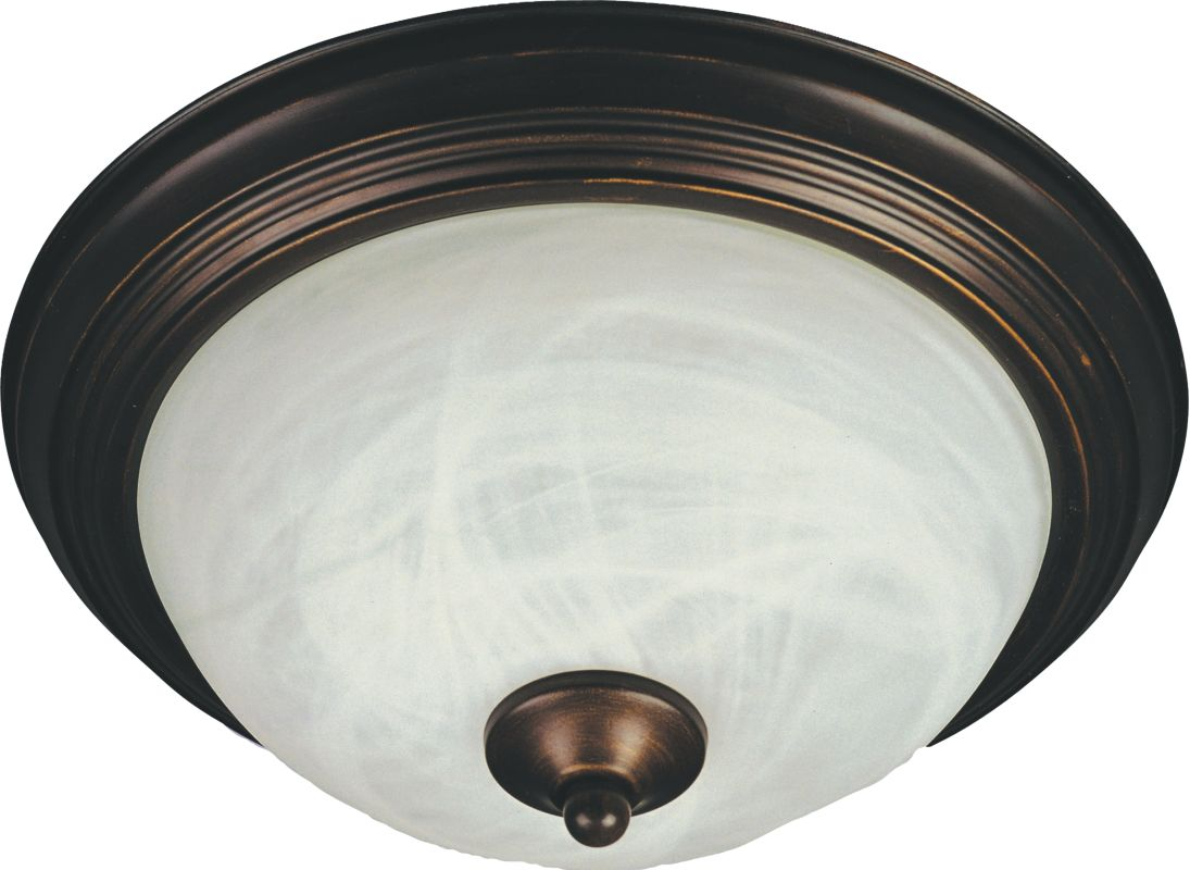 "Maxim 85841 2 Light 13.5"" Wide Flush Mount Ceiling Fixture from the"