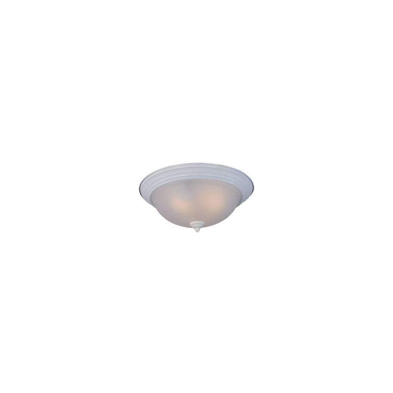 "Maxim 85842-LQ 3 Light 15.5"" Wide Flush Mount Ceiling Fixture from the"