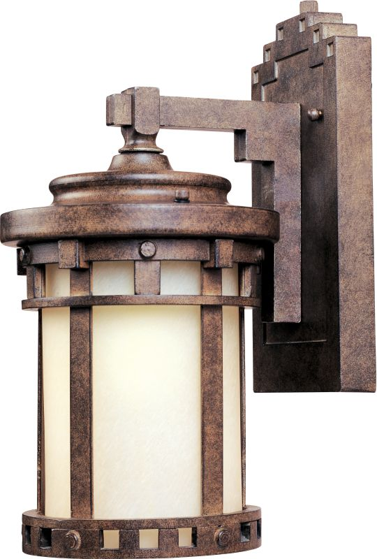 "Maxim 86031 1 Light 10"" Tall Outdoor Wall Sconce from the Santa"