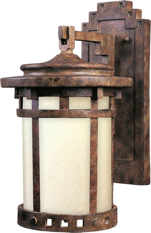 """Maxim 86033 1 Light 13"""" Tall Outdoor Wall Sconce from the Santa"""