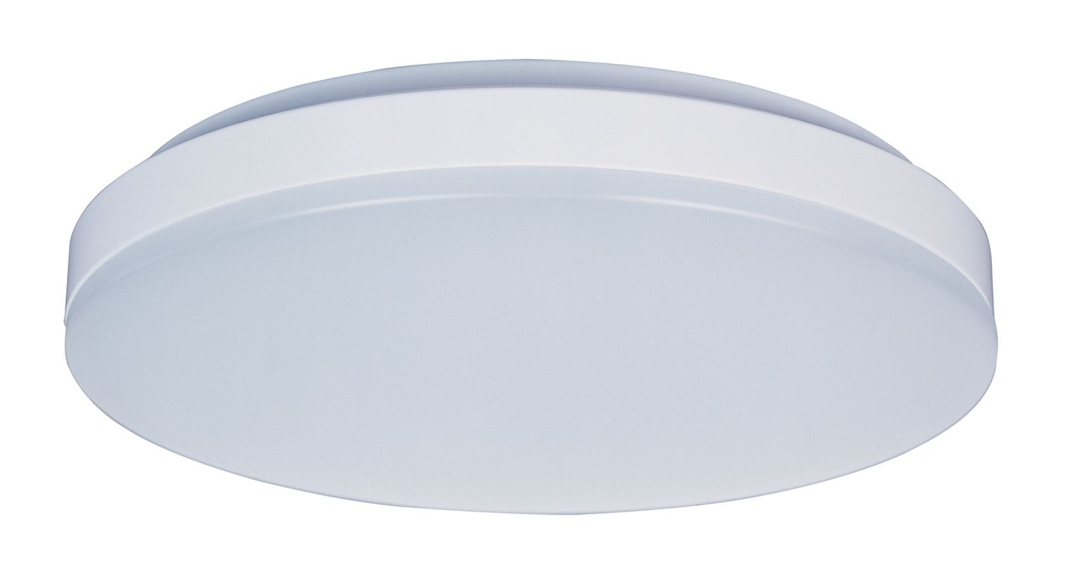"""Maxim 87582 1 Light 11"""" Wide LED Flush Mount Ceiling Fixture from the"""