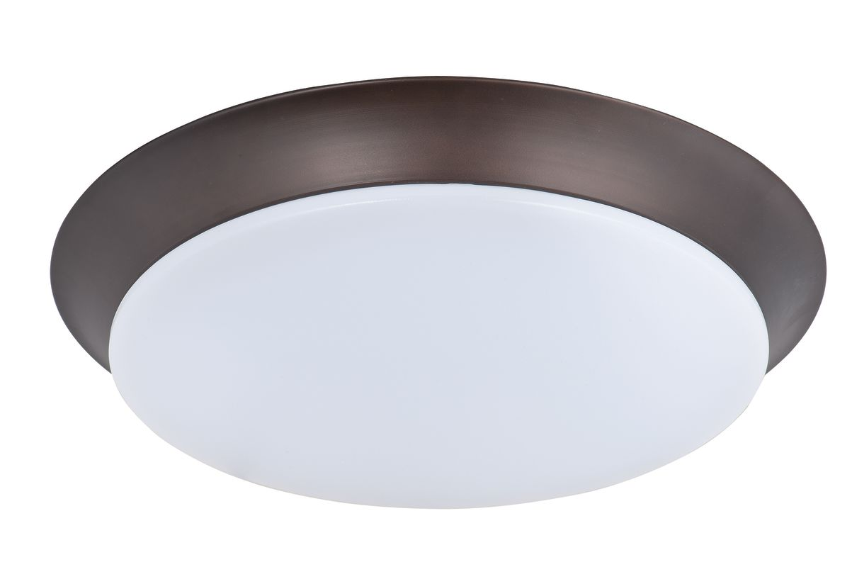 "Maxim 87595 1 Light 11.75"" Wide LED Flush Mount Ceiling Fixture from"